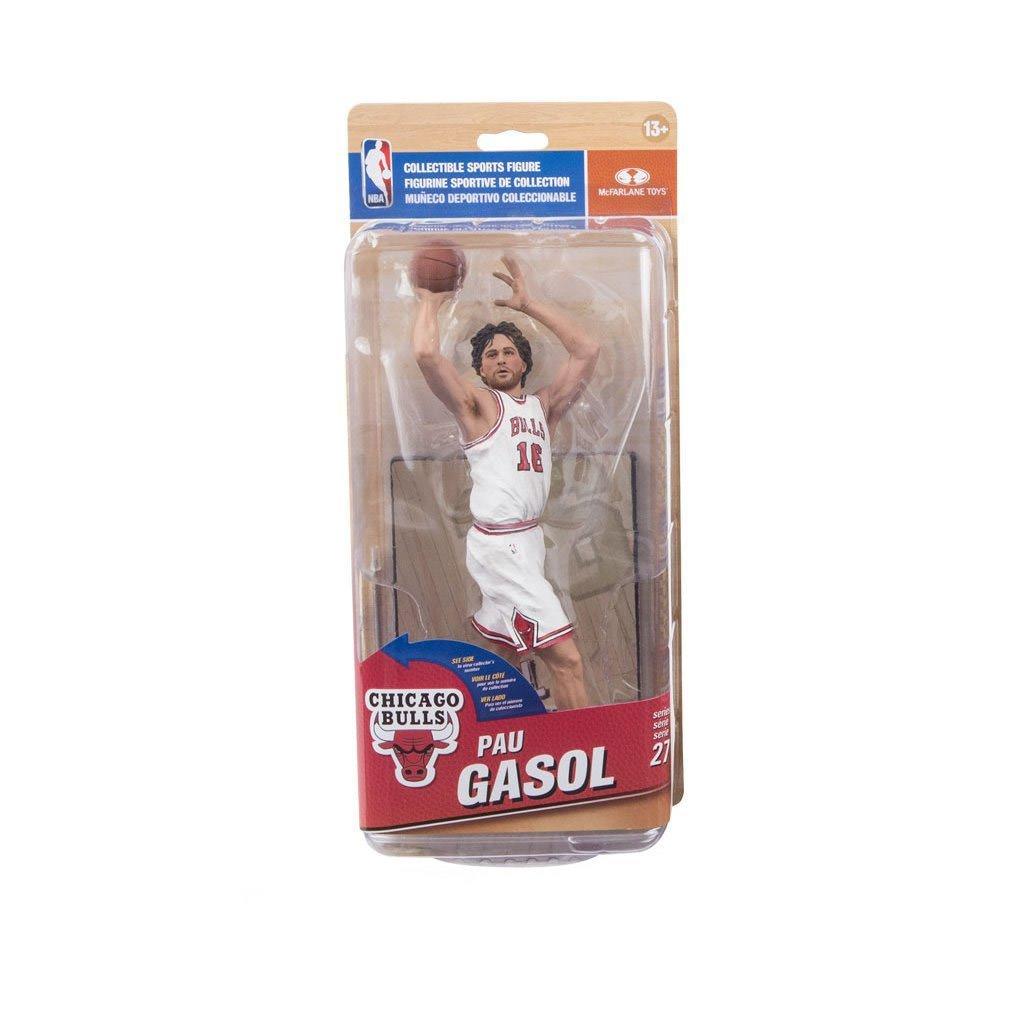 NBA Chiacgo Bulls Pau Gasol Action Figure All Star Collector Level