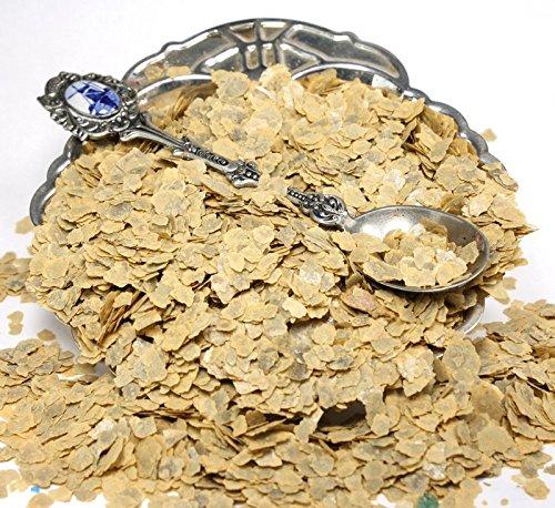 Stone Yellow Natural Mica Flakes - One Pound - #311-4388