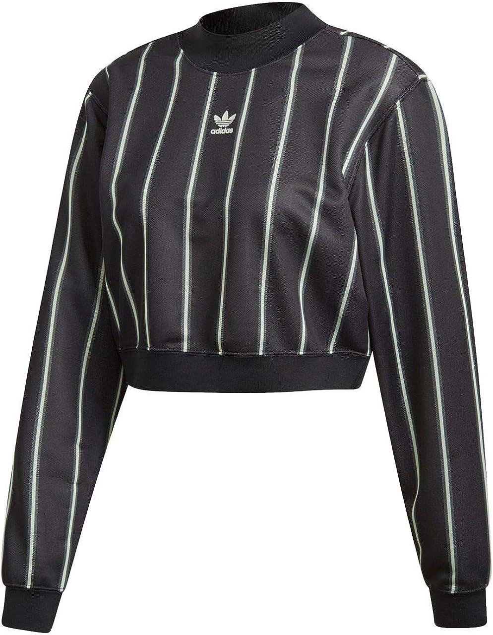 adidas Sweater Femme Noir: : Vêtements et accessoires