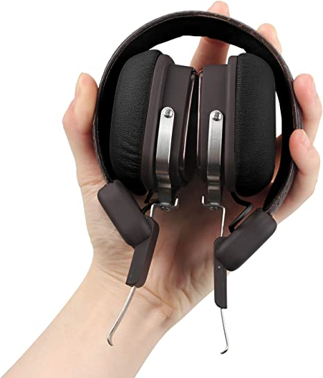 Wireless Bluetooth Stereo Headphones With Mic For Music Amazon Co Uk Electronics