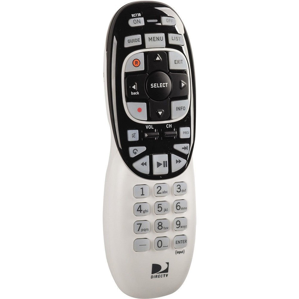 DIRECTV RC73B Universal Backlit Remote