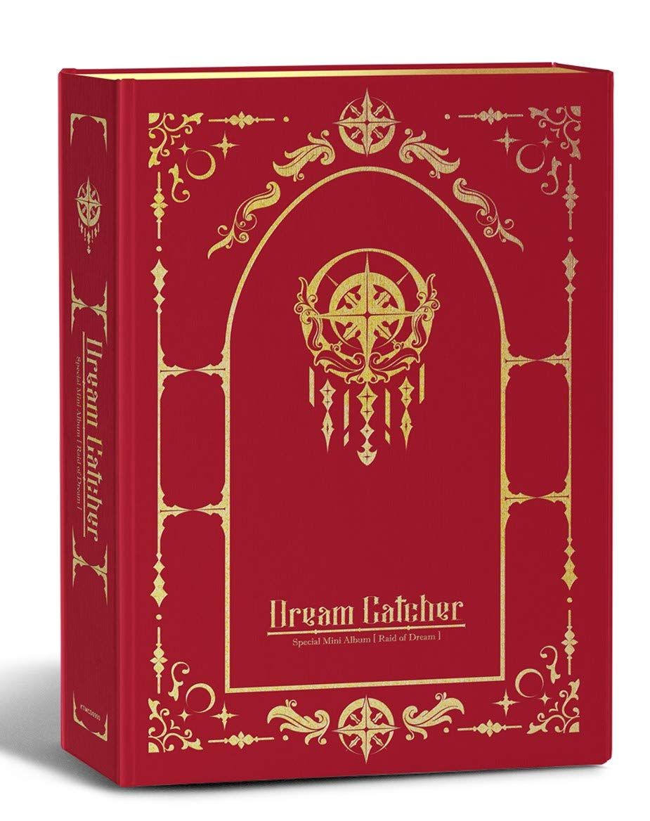 Raid of Dream Pre Order Dreamcatcher Normal Edition Photocard with Extra Decorative Sticker Set Special Mini Album Booklet Photocard Set CD