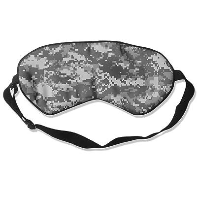 Sleep Mask Camouflage Eye Cover Blackout Eye Masks,Soothing Puffy Eyes,Dark Circles,Stress,Breathable Blindfold For Women Men
