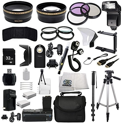 The EVERYTHING YOU NEED Package kit for the Canon EOS Reb...