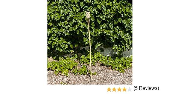 Habita Home ANTORCHA para Jardines 120 CM 120 cm Color BAMBÚ ...