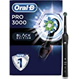 Oral-B 3000 Smartseries Electric Toothbrush with Bluetooth Connectivity, Black Edition, Powered by Braun