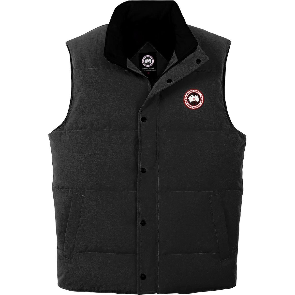 (カナダグース)Canada Goose Garson Down Vest メンズ ベストBlack [並行輸入品] B077N241BC 日本サイズ M (US S)|Black Black 日本サイズ M (US S)