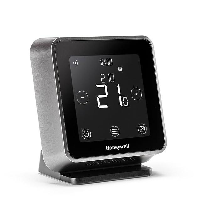 Honeywell Lyric T6R Wi-Fi Termostato y receptor caja con soporte de mesa y fuente de alimentación, 1 pieza, Negro, y6h910rw4013: Amazon.es: Bricolaje y ...
