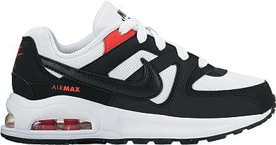 Scarpe sportive bambino NIKE Air Max Command PS tela nero