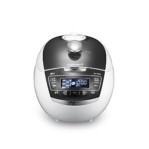 Cuchen Premium IH Pressure Rice Cooker 6Cup WHA-VE0609G Metal Grey