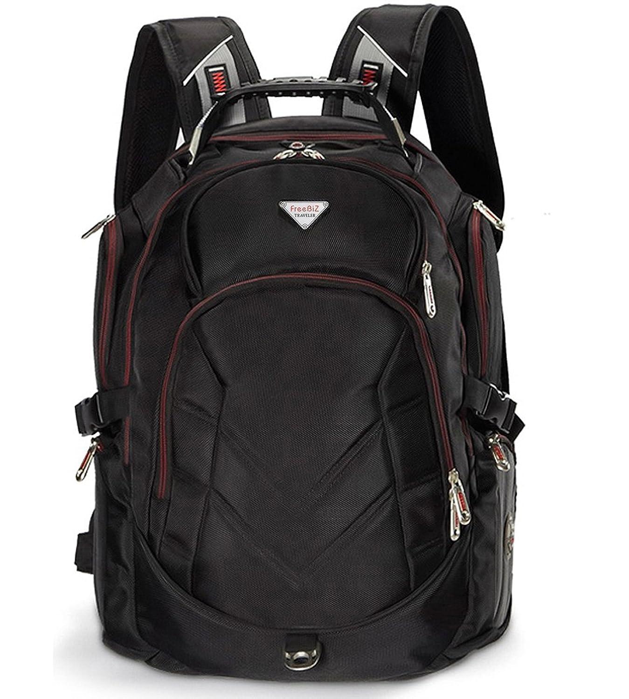 Amazon.com: Laptop Backpack,FreeBiz 17 Inch Back Pack for 17.3 ...