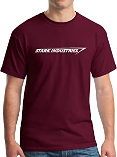 Stark Industries T-Shirt - Metallic Silver Print