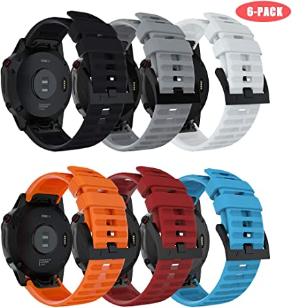 Quick Install Silicone Band Strap For Garmin Fenix 5 Plus//Forerunner 935 945//S60