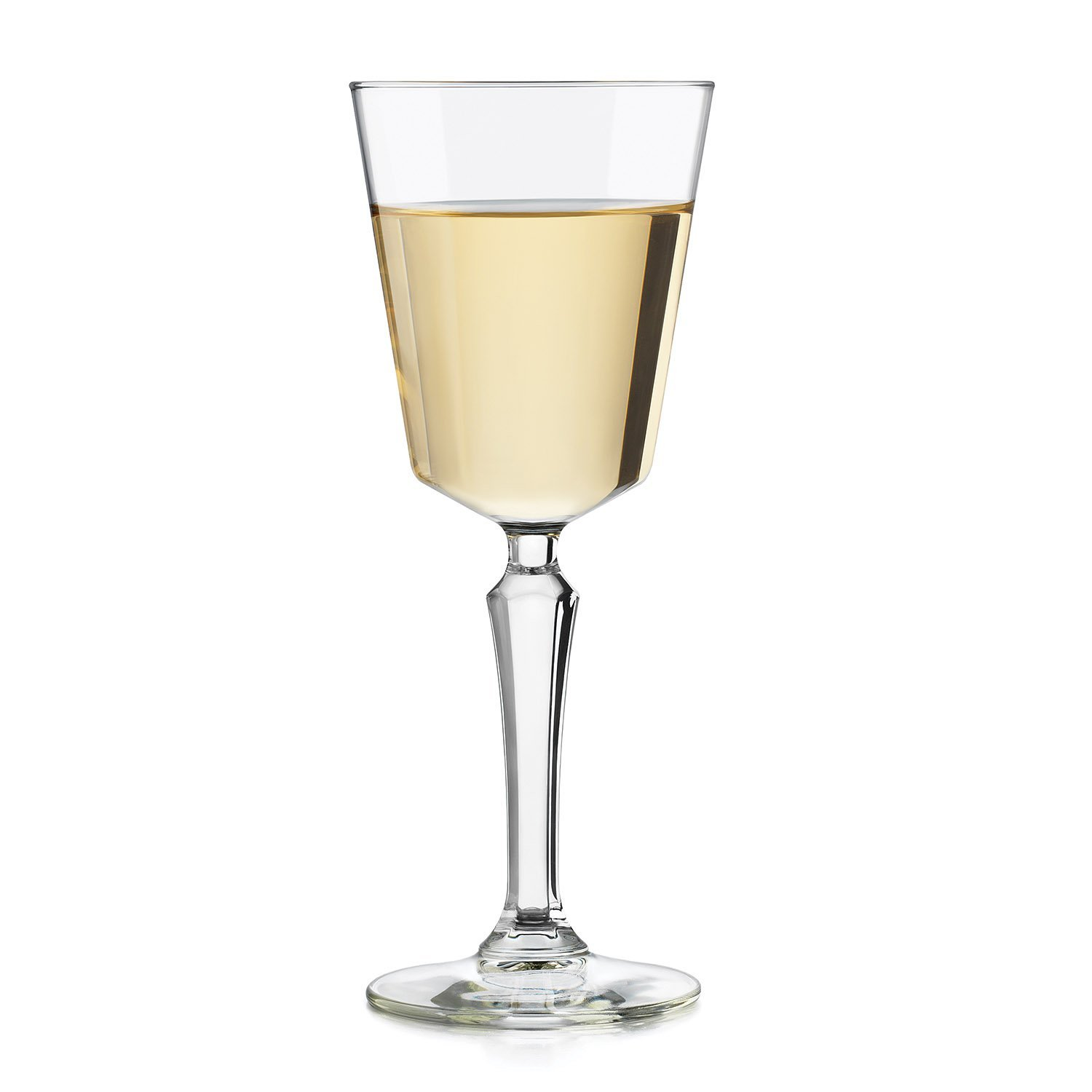 Libbey 4 Piece Capone White Wine Glasses Set in Clear