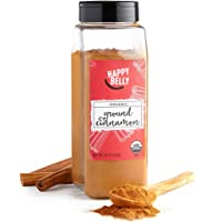 Amazon Brand Happy Belly 16-Ounce Organic Cinnamon (Ground)