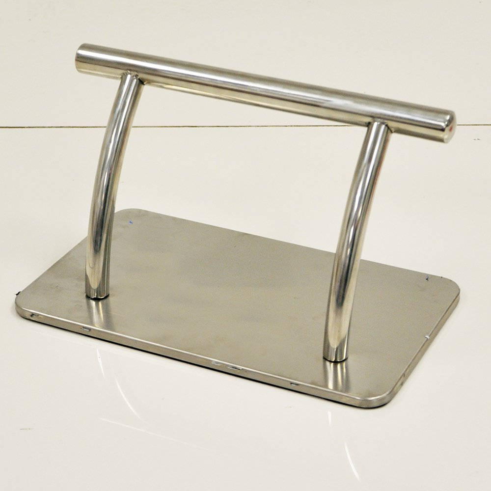 Stainless Steel Salon Chair Footrest for Barber and Hairdressing Salons Beauty4Less
