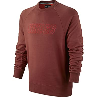 Amazon Com Nike Sb Everett Reveal Crew Neck Mens Sweatshirt Clothing