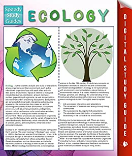 ecology study guides To the student reinforcement and study guide this reinforcement and study guide for biology: the dynamics of life will help you learn more easily from your textbook.