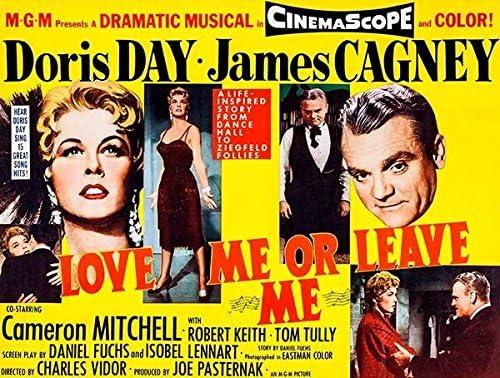 1955 Doris Day James Cagney movie poster print 5 Love Me or Leave Me