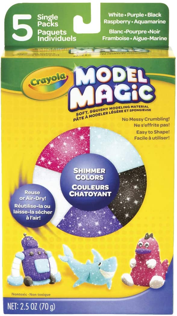 Model Magic Variety Pack 2.5oz-Shimmer