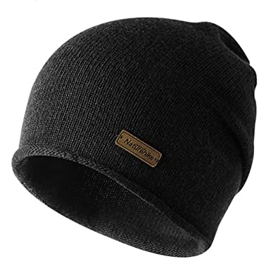 Image Unavailable. Image not available for. Color  Winter Running Hat Warm  Beanie Hat Men ... 54552436816