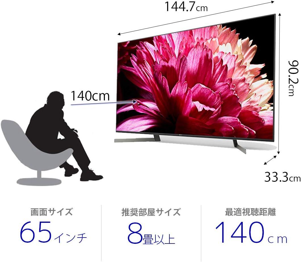 9500g ブラビア 壁掛けテレビにおすすめ!「ソニー ブラビアシリーズ」