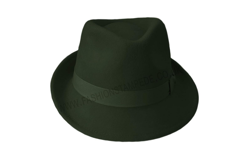 100 % Wool Trilby Hats 8ef88e591fa1