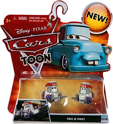 Disney / Pixar CARS TOON 155 Die Cast Car Teki Paki