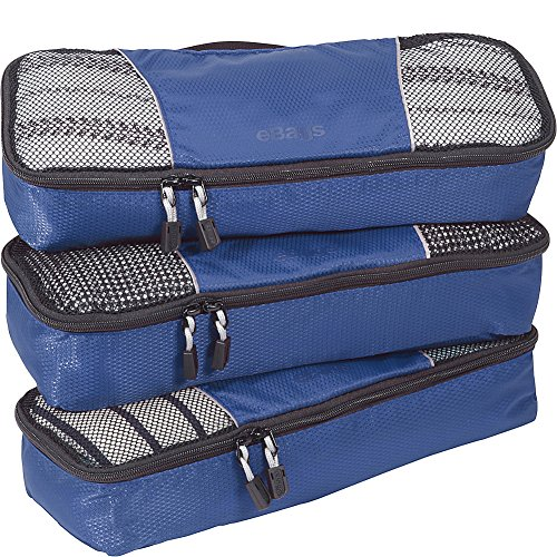 slim packing cubes for travel organizers 3pc