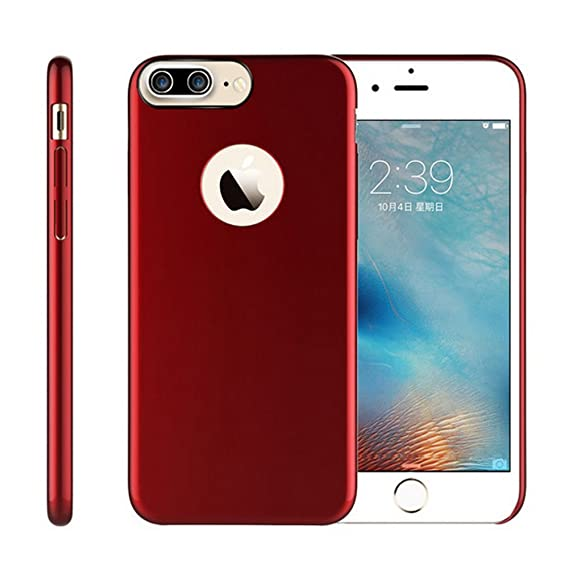 uk availability cb285 b9afc iPhone 7 Plus Case, Remex [Ultra Thin Luxury PC] Stand Feature Anti-Scratch  and Non-Slip and Simple Fashion Design Case Cover for Apple iPhone Plus 7  ...