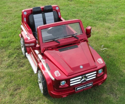 Amazon.com: Original Mercedes Benz G55-amg with License 2.4 Ghz Remote Control 3 Speeds New Generation Children Ride on Electric Car Brand Name Kids Battery ...