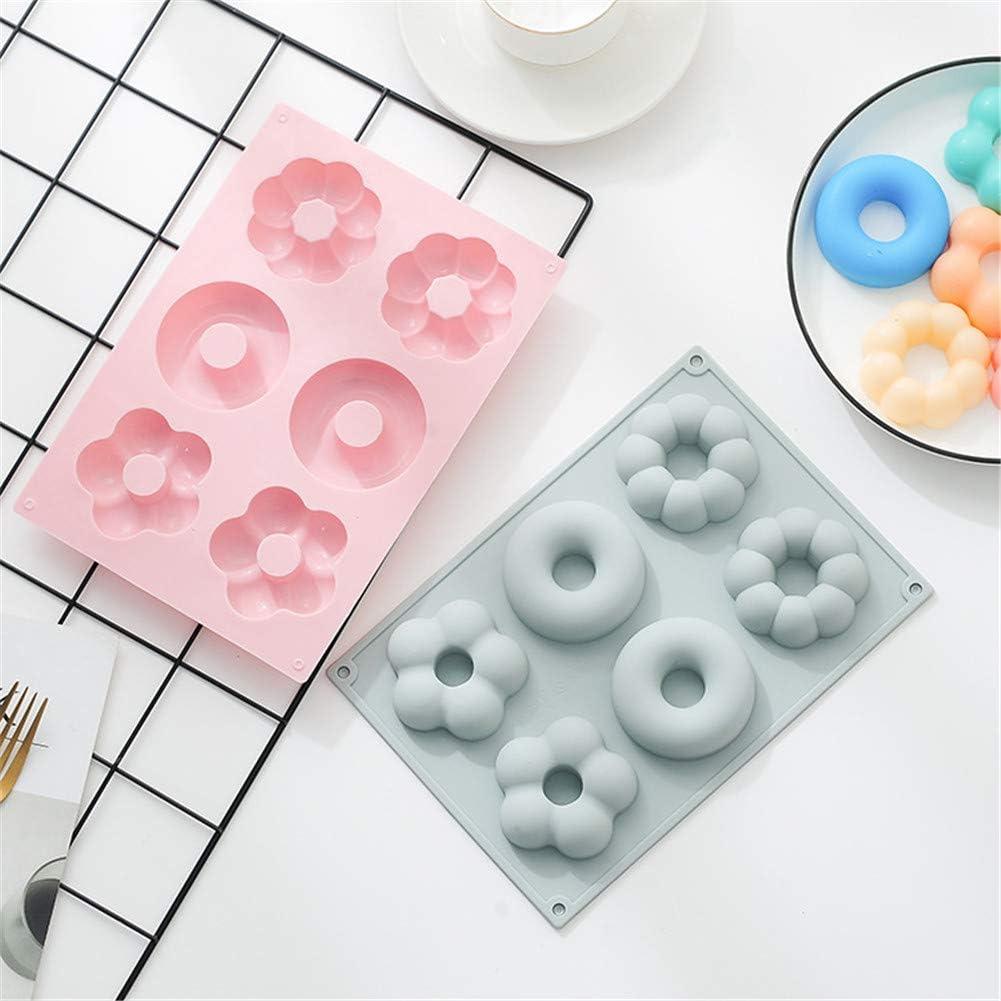 A-Liebe,Blau Fansu Silikonform 2 St/ücke Silikonformen DIY Backen Mini-Cupcake Formen Kuchen Schokolade Biscuit Pudding Jelly Muffin S/ü/ßigkeiten Seife Form 3D Backform f/ür K/üche Backen