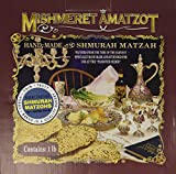 1 Lb Hand Made Shmura Matzah for Passover