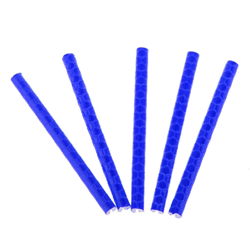 MagiDeal R/éflecteur de Jante V/élo Tube de Rayon R/éfl/échissant Bleu