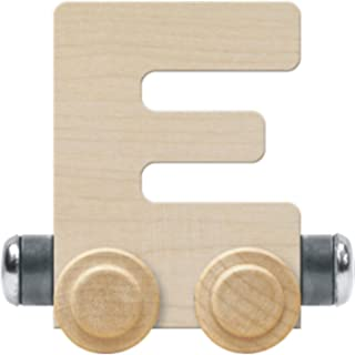 product image for NameTrain Unfinished Letter Car E - Made in USA
