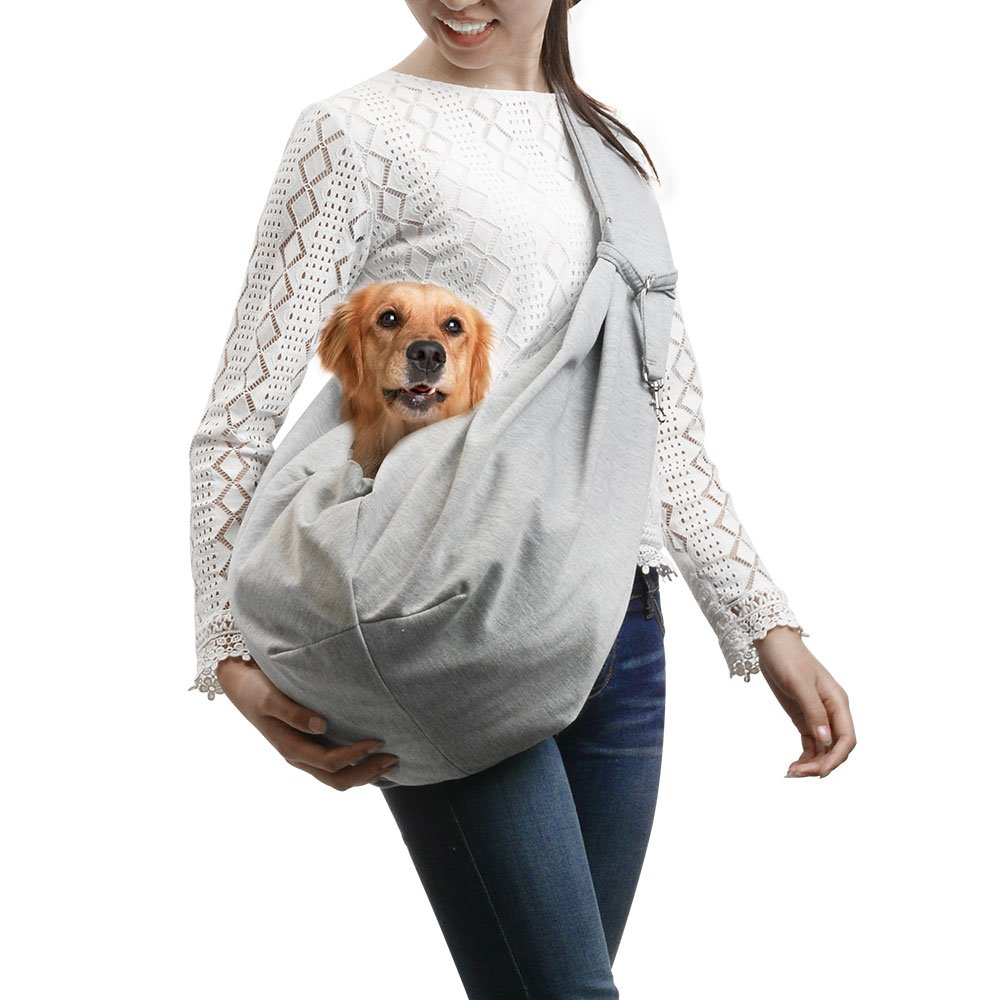 Ownpets Reversible Pet Sling Carrier for SMALL Dog and Cat 12e58caa50dbb