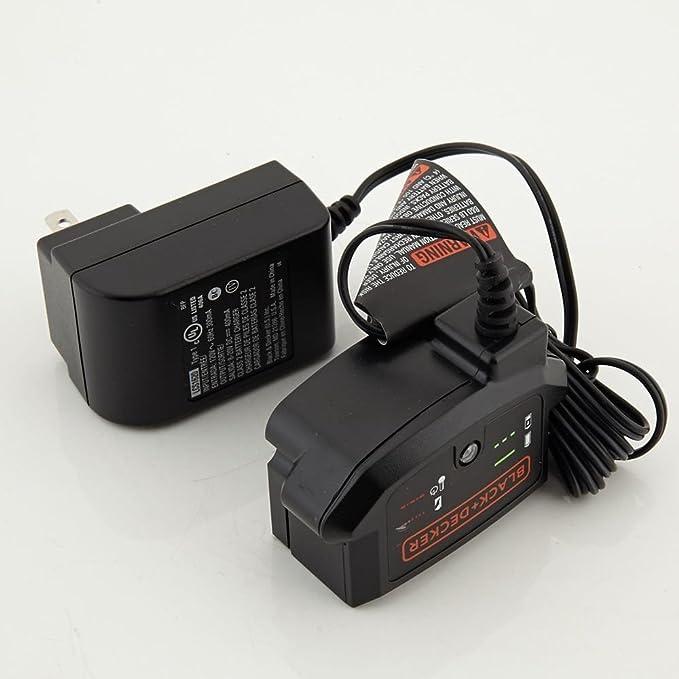 Black and Decker 16v-20v Standard Li-ion Charger 90590282, 1-Pack (Battery & Charger)
