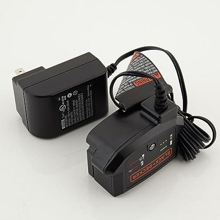 Amazon.com: Cargador de batería de litio ion, Black ...