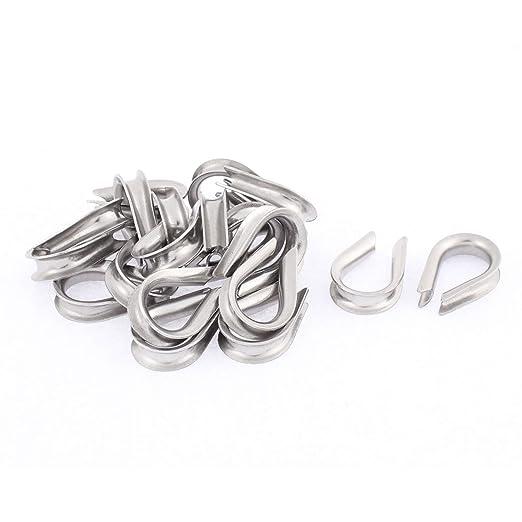 Aexit Acero inoxidable 4 mm Cable de cable de cuerda ...
