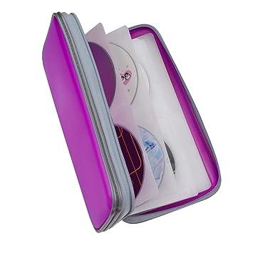 Fanspack Porta CD Estuche CD de 80 Disco CD DVD Bolsas CD ...