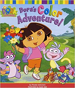 Amazon Doras Color Adventure Dora The Explorer 9780689846632 Phoebe Beinstein Susan Hall Books