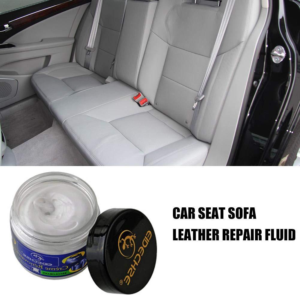 AITOCO Juego de reparación de Vinilo de Cuero para automóviles, Muebles de sofás, el Conjunto Premium Que repara, renueva y restaura el Color del ...
