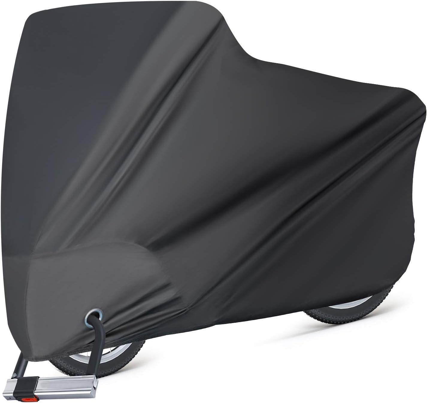 XL Waterproof Bicycle Cover Bike Sun Rain Dust Protector Garage Outdoor NEW US