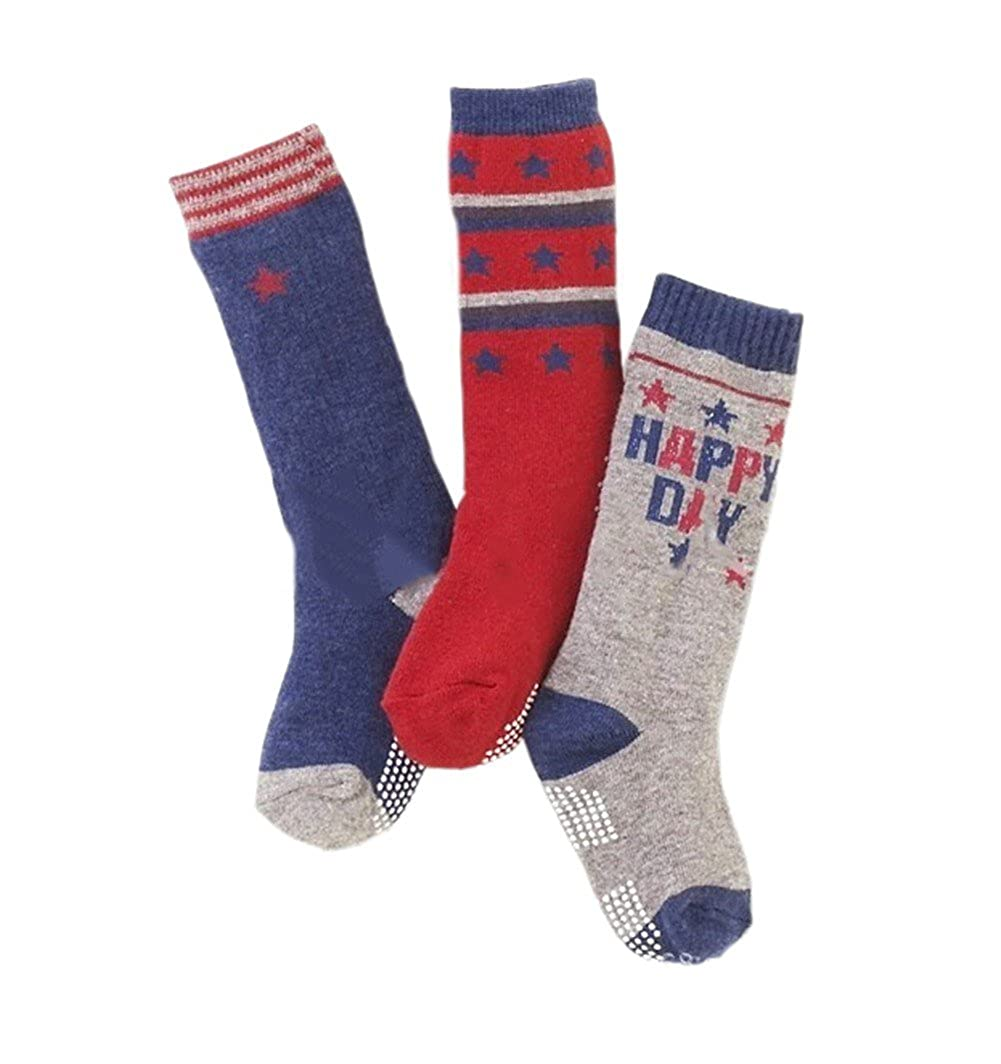 Samgu 3 Pairs Calcetines Zapatos Antideslizantes para bebés niños niñas ES-SG-WAZI215