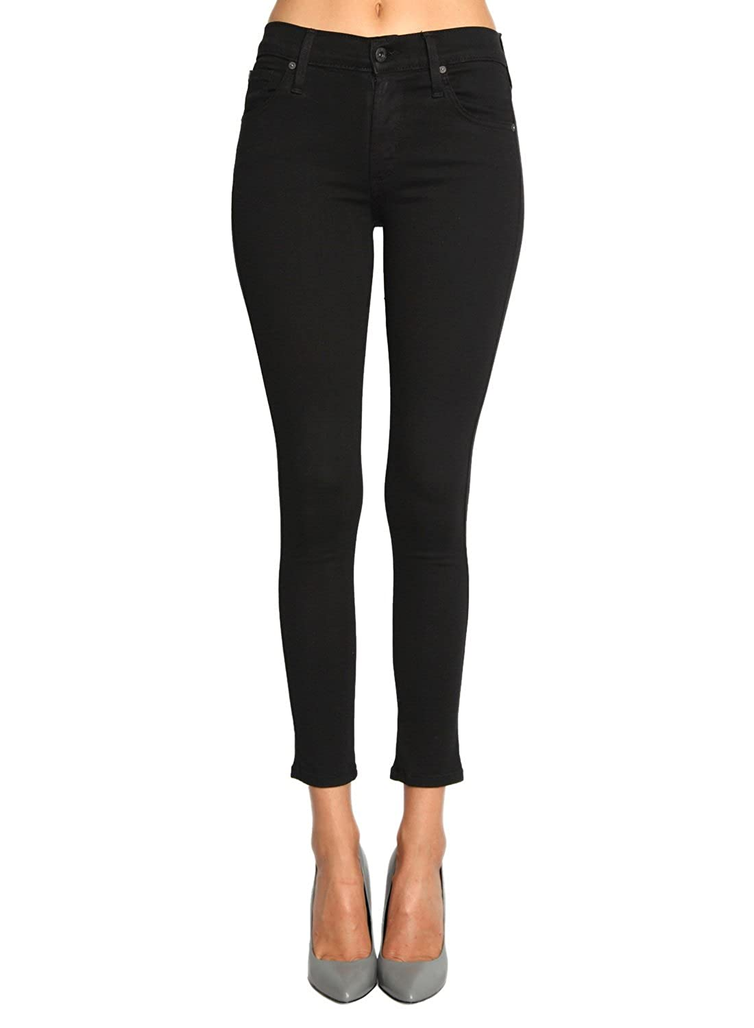 James Jeans Twiggy Ankle Black Swan