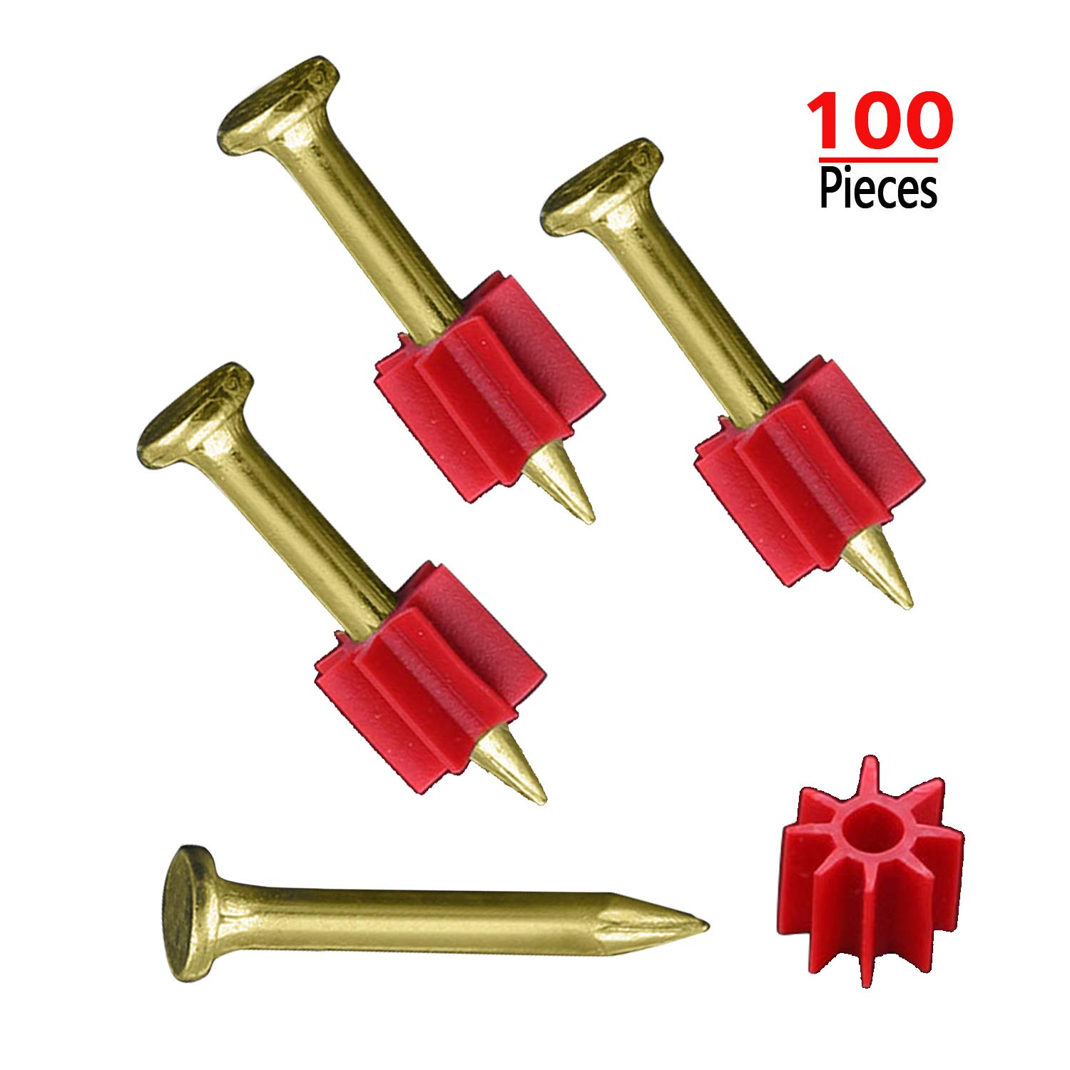 Wall Anchors Kit Self Drilling Drywall Plastic Anchors with Screws Kit 60 Pieces All