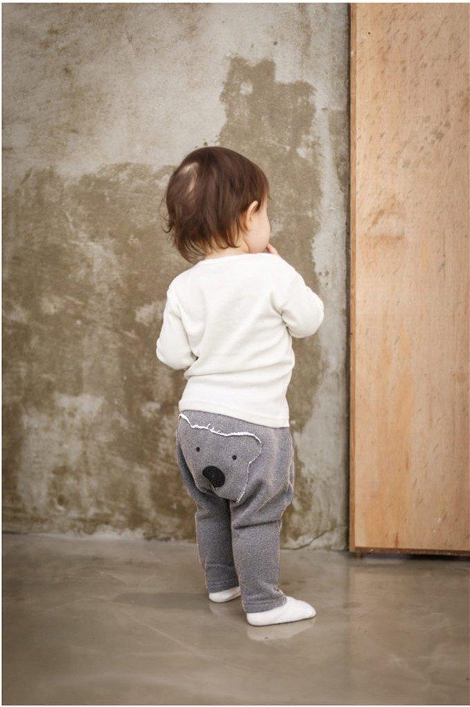 Vine Baby Hiphop Harem Pants Toddler Sport Jogger Trousers Bear Cotton Leggings