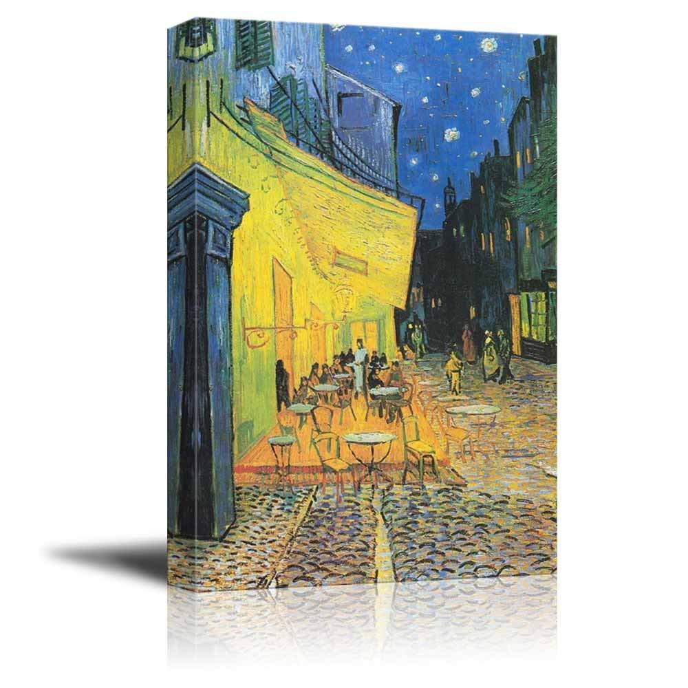 Amazon.com: Family Decor Canvas Print Wall Art - Cafe by Vincent Van ...