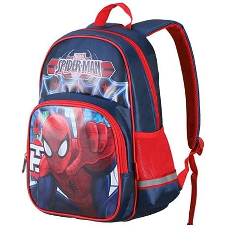 QUAN YOU Mochila Escolar - Spiderman Childrens School Bag Boy Equipaje/ Mochila/Mochila Infantil