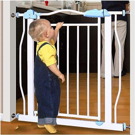 Puerta De Bebé Barreras De Seguridad For Bebés For Escaleras Barrera Con Aislamiento For Mascotas Barrera De Red Con Protección De Puerta Chimenea Parrilla Barandilla Plegable Fácil De Instalar Apagad: Amazon.es: Hogar